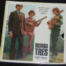 Discos de vinilo: SINGLE RUMBA TRES. PERDIDO AMOR. Lote 8049623