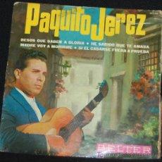 Discos de vinilo: SINGLE PAQUITO JEREZ. BESOS QUE SABEN A GLORIA. Lote 8050138