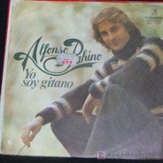 Discos de vinilo: SINGLE ALFONSO PAHINO. YO SOY GITANO. Lote 13510850