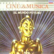 Disques de vinyle: BSO EL MUNDO FUTURO - METROPOLIS + DUNE + ROLLERBALL ETC.. LP 1987 CINE Y MUSICA 21. Lote 8063519