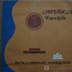 Discos de vinilo: EP , MUSICA ESPAÑOLA ,EDICION ESPECIAL DEL BANCO HISPANO AMERICANO. Lote 27431668