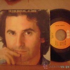 Discos de vinilo: VICTOR MANUEL. AY AMOR / EL COBARDE. SINGLE VINILO 45 RPM.. Lote 25635747