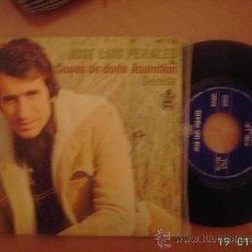 Discos de vinilo: JOSE LUIS PERALES. COSAS DE DOÑA ASUNCIÓN / DENISE. SINGLE VINILO 45 RPM.. Lote 25635748