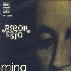 Discos de vinilo: MINA CANTA EN ESPAÑOL LP AMOR MIO EMI SPA 1972. Lote 25138779