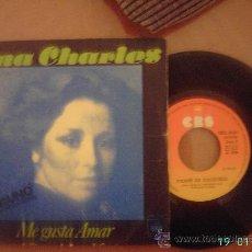 Discos de vinilo: TINA CHARLES. I LOVE TO LOVE (ME GUSTA AMAR) / DISCO FEBER (FIEBRE DE DISCOTECA). SINGLE 45 RPM. Lote 8086082
