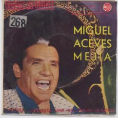 Discos de vinilo: MIGUEL ACEVES MEJIA,CHIQUITITA. Lote 8088948