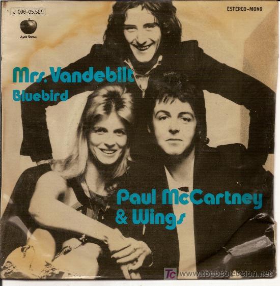 MRS  VANDEBILT BLUEBIRD AUTOR PAUL MCCARTNEY WINGS
