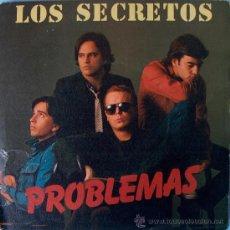 Discos de vinilo: LOS SECRETOS / PROBLEMAS RARO SINGLE DE 1982 POLYDOR / ALVARO URQUIJO. Lote 22521189