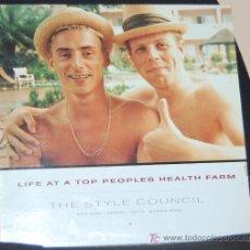 Discos de vinilo: LP THE STYLE COUNCIL. LIFE AT A TOP PEOPLES HEALTH FARM. Lote 89521191