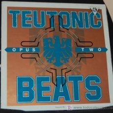 Discos de vinilo: LP TEURONIC BEATS. OPUS TWO. Lote 8120898
