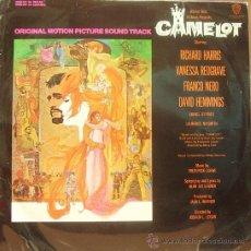 Discos de vinilo: BSO CAMELOT - FREDERICK LOEWE LP 1967. Lote 8122905