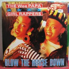 Discos de vinilo: WEE PAPA GIRL RAPPERS ( BLOW THE HOUSE DOWN 2 VERSIONES - RAM SHOWCASE ) 1988-UK MAXI. Lote 8123290
