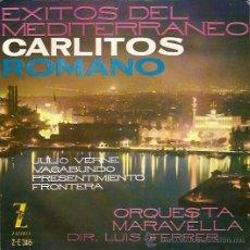 Discos de vinil: CARLITOS ROMANO EP SELLO ZAFIRO AÑO 1961. Lote 8149632