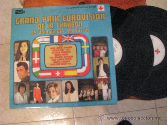 LP DOBLE + DOBLE PORTADA 33 RPM / GRAND PRIX EUROVISION 1956-1981//EDITADO POR POLYDOR (Música - Discos - LP Vinilo - Festival de Eurovisión)