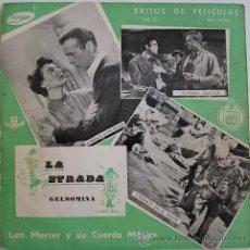 Discos de vinilo: LEN MERCER-MUSICA DE PELICULAS -RARO EP DISCOS VOGUE-HISPAVOX. Lote 15956112