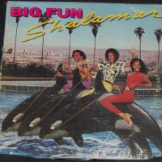 Discos de vinilo: LP SHALAMAR. BIG FUN. Lote 8178199