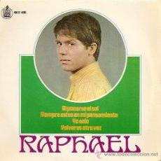 Discos de vinil: RAPHAEL EP SELLO HISPAVOX 1967. Lote 8205898