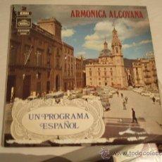 Discos de vinilo: LP. ARMONICA ALCOYANA. AÑO 1970. Lote 8214444