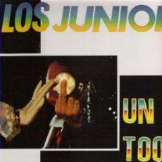 Discos de vinilo: LOS JUNIORS - UN TOQUE DE CALIDAD *** ARREBATO RECORDS. Lote 13148748