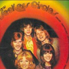 Discos de vinilo: THE NEW SEEKERS LP CIRCLES SPA 63 03 064 PHILIPS 1972 VER FOTO ADICIONAL. Lote 8224465
