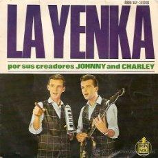 Discos de vinilo: JOHNNY AND CHARLEY EP SELLO HISPAVOX AÑO 1964. Lote 8227841