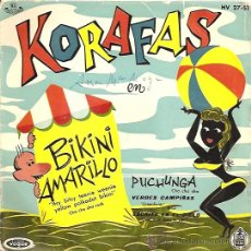 Discos de vinilo: KORAFAS EP SELLO VOGUE HISPAVOX AÑO 1960. Lote 8227884
