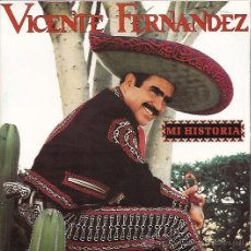 Discos de vinilo: VICENTE FERNANDEZ SINGLE DOBLE (2 DISCOS) SELLO EPIC AÑO 1992 PROMOCIONAL. Lote 8228001