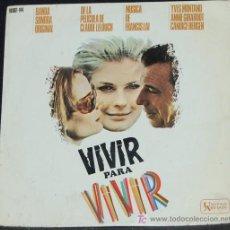 Discos de vinilo: SINGLE BANDA SONORA ORIGINAL VIVIR PARA VIVIR. FRANCIS LAI. Lote 8231392