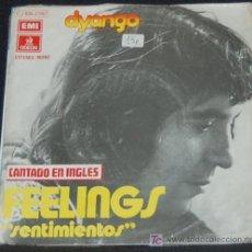 Discos de vinilo: SINGLE DYANGO. FEELINGS. Lote 8231942