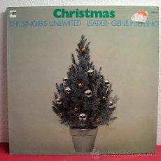 Discos de vinilo: THE SINGERS UNLIMITED LEADER: GENE PUERLING ( CHRISTMAS ) GERMANY-1972 LP33 MPS. Lote 8231992