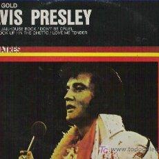 Discos de vinilo: PURE GOLD ELVIS PRESLEY - RCA ESPAÑA 1977. Lote 12737712