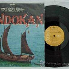 Discos de vinilo: VINILO BANDA SONORA PELÍCULA TV SANDOKAN GUIDO Y MAURIZIO DE ANGELIS RCA AÑOS 70. Lote 8239533