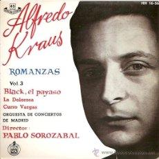Discos de vinilo: ALFREDO KRAUS EP SELLO HISPAVOX AÑO 1959 VOL.3. Lote 8242360