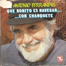 Discos de vinilo: ANTONIO FERRANDIZ EP SELLO ZAFIRO AÑO 1982 PROMOCIONAL.. Lote 8242459