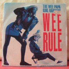 Discos de vinilo: WEE RULE (WEE PAPA GIRL RAPPERS - WEE PAPA GIRL RAPPERS). Lote 8253504