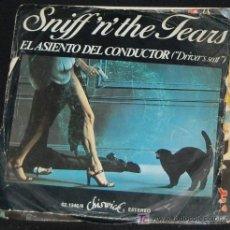 Discos de vinilo: SINGLE SNIFF´N´THE TEARS. EL ASIENTO DEL CONDUCTOR. Lote 8262961