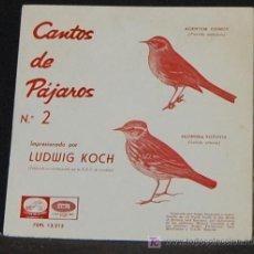 Discos de vinilo: SINGLE LUDWIG KOCH. CANTOS DE PAJAROS Nº 2. Lote 8263067