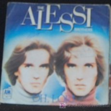 Discos de vinilo: SINGLE THE ALESSI BROTHERS. OH, LORI. Lote 8263262