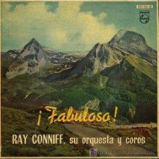 Discos de vinilo: RAY CONNIFF - BÉSAME MUCHO / TIEMPO DE VERANO / TENTACIÓN / BRASIL - EP 1960. Lote 20041031