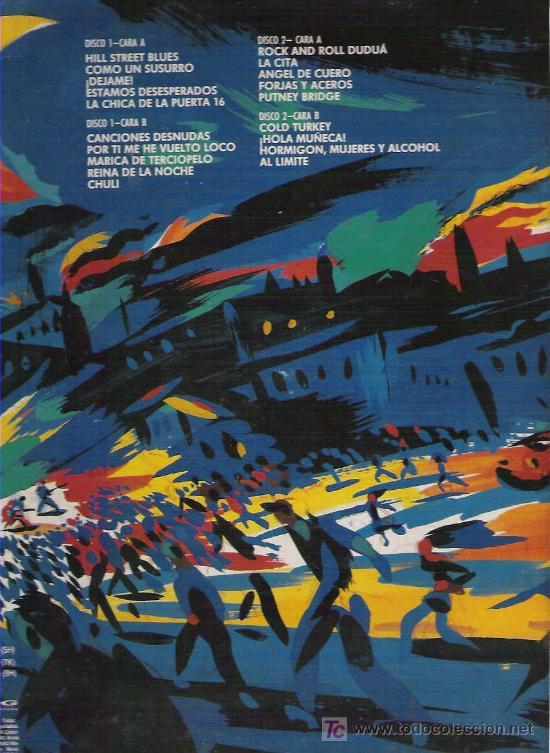Discos de vinilo: RAMONCIN - AL LIMITE VIVO Y SALVAJE , 2 LP EN CARPETA DOBLE 1990 - Foto 2 - 11344102