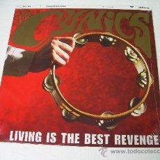 Discos de vinilo: LP THE CYNICS LIVING IS THE BEST REVENGE GARAGE VINILO. Lote 254887280