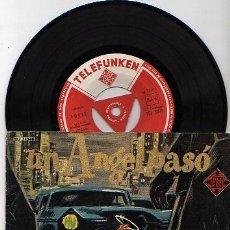 Discos de vinilo: EP DE LA PELICULA UN ANGEL PASO POR BROOKLYN . Lote 8288939