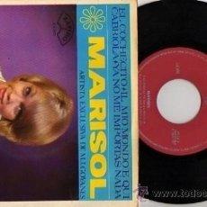 Discos de vinilo: EP MARISOL EL COCHECITO-IL MIO MONDO E QUI-CABRIOLA ETC. Lote 8289129