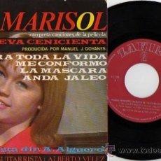 Discos de vinilo: EP MARISOL CANCIONES PELICULA LA NUEVA CENICIENTA. Lote 8289180