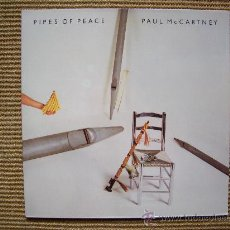 Discos de vinilo: PAUL MCCARTNEY `PIPES OF PEACE´ NUEVO. Lote 27442865