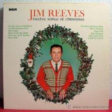 Discos de vinilo: JIM REEVES ( TWELVE SONGS OF CHRISTMAS ) SWEDEN-1964 LP33 RCA. Lote 8294745