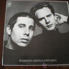 Discos de vinilo: SIMON & GARFUNKEL - BOOKENDS - (ESPAÑA-CBS-1982) 1968 FOLK POP LP. Lote 20233380