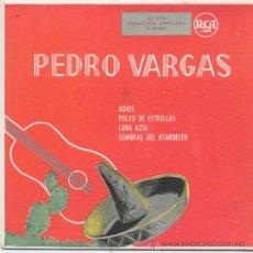 Discos de vinilo: PEDRO VARGAS,ADIOS. Lote 8318851