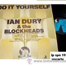 Discos de vinilo: IAN DURY & THE BLOCKHEADS LP CON ENCARTE DO IT YOURSELF SPA 1979 EDITA DISCOS COLUMBIA. Lote 8334550