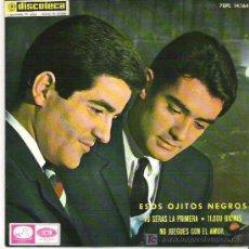 Dischi in vinile: DUO DINAMICO - ESOS OJITOS NEGROS + 3 EP*** 1965. Lote 17074112